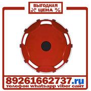 Колпаки колёсные 22.5 передние пластик бордовые в Москве
