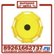 Колпаки колёсные 22.5 передние пластик желтые в Москве