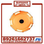 Колпаки колёсные 22.5 передние пластик оранжевые в Москве