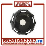 Колпаки колёсные 17.5 задние пластик черные в Москве