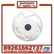 Колпаки колёсные 17.5 задние пластик белые в Москве