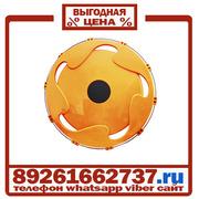 Колпаки колёсные 17.5 передние пластик оранжевые в Москве